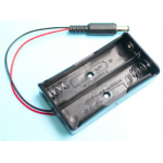 HR0309-19A  2x18650 Battery holder with  DC connector