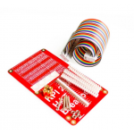 HR0611 Raspberry Pi 3 & Raspberry Pi 2 Model B HAT GPIO Expansion Board + 40P cable Kit - Red