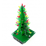 HR0214-170A	Christmas Tree LED Flash Kit 3D DIY Electronic Learning Kit
