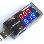 HR0201	0.28inch USB Current Voltage ammeter Tester