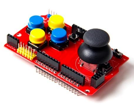 Joystick Shield Module Robotics Control Arduino
