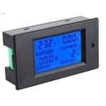 HS0577 PZEM-021 4 in 1 LCD Voltage Current Active Power Energy Meter Blue Backlight Panel Voltmeter Ammeter KWH Meter 0-20A 80-260V 50/60HZ