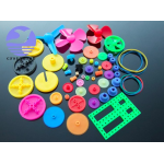 HS0667 Colorful, DIY 55 kinds of color plastic gear package, transmission, toy car, gear motor, motor gear