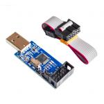 HR0214-25 USBASP USBISP AVR Programmer USB ISP ATMEGA8 atmega128 support WIN7 64K with 60cm cable