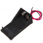 HR0295A 9v battery holder with wire