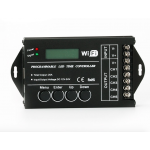 HS0881 TC421 programmable led time controller 12v-24v 20A with Wifi