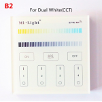 HS0882 Mi Light B2  Wireless 2.4G RF Panel Controller for dual white CCT