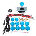 HS1054 DIY Arcade Game Controller USB Joystick Kit-Blue