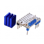 HS1099 TMC2130 V1.1 Stepstick Stepper Motor Driver For SPI Function with Heat Sink for 3D Printer