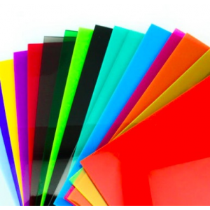 HS1199 30cm*40cm*2.6mm colored acrylic sheet