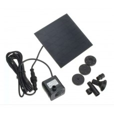 HS1299 1.2W Solar Panel Power Water Pump Kit For Submersible Fountain Pond