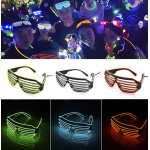 HS1304 Flashing EL Wire Led Glasses