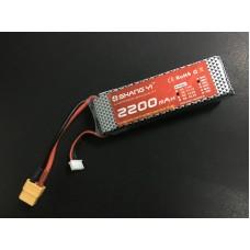 HS1363 11.1V 3S 2200mAh/35C ,3300mah/35C ,5200mah/35C Lipo Battery with XT60