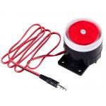 HS1386 9-12V 120dB Mini Wired Siren