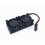 HS1504 Dual Cooling Fans Heatsink Kit with Adhesive Tape For Raspberry Pi 2 / 3 Model B
