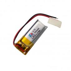 HS1530 3.7V 100mAh battery 27*12*4.5mm