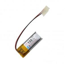 HS1532 3.7V 150mAh battery 34*12*4.2mm