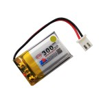 HS1537 3.7V 300mAh battery 32*20*5mm with PH2.0 connector