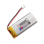 HS1547 3.7V 1000mAh battery 66*27*4mm  with PH2.0 connector