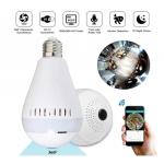 HS1583 360° Wireless Hidden WIFI  960P/1080P HD Camera LED Light Bulb Security Lamp