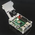 HS1728 Acrylic Case  + Fan for Raspberry Pi 4