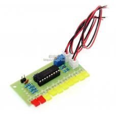 HS1744 LM3915 10 LED Sound Audio Spectrum Analyzer Level Indicator Kit DIY Electoronics Soldering Practice Set