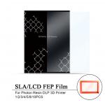 HS1804 140x200mm UV92% SLA/LCD FEP Film 0.15-0.2mm Thickness For Photon Resin DLP 3D Printer