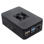 HS1805 ABS Raspberry pi4 case compatible for Fan