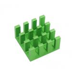 HS1811 14*14*6MM Adhesive Aluminum Heatsink For Raspberry Pi
