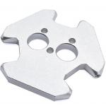 HS1853 3MM Delta Kossel fisheye effector Hammock Aluminum Metal Hanging Station dual print head