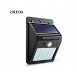 HS2065 solar powered 20 LED PIR  Waterproof Street Security Light
