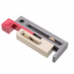 HS2260 Table Saw Slot Adjuster Mortise and Tenon Tool Woodworking Movable Measuring Block