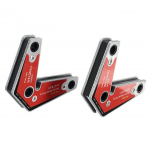 HS2272 2pcs/pack Dual-Use Strong Welding Corner Magnet/Neodymium Magnetic Holder Twin Pack WM3-6090S