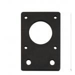 HS2287 Aluminum Plate Bracket Nema 17 Thickness 4mm For 2020 2040 Aluminum Profile For 42 Stepper Motor For 3D Printer