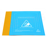 HS2289 hotbed sticker 3d printer heat hot bed sticker textured paper platform film