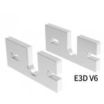HS2297 Hot End Aluminum Mount Plate For J-Head DIY Hot End Oxidation Treatment Aluminum Block