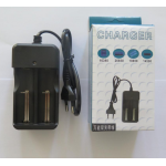 HS2319 Smart Dual Li-ion Battery Charger 26650 18650 14500 16340 EU/US Plug