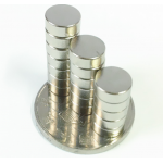 HS2564 100pcs Powerful Round Magnets 8x3mm