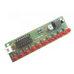 HS2582 NE555 + CD4017 LED Flash DIY Kit 3-5V Light LED Module