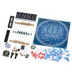 HS2597 DS1302 Rotating LED Display Alarm Electronic Clock Module DIY KIT
