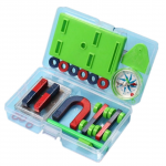 HS2603 DIY Bar Ring Horseshoe Compass Magnets Set basic physics Learning Aids Technology Science Experiment Tool Toys For Children