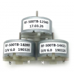 HS2672 Brush Motor Model RF500TB12560 14415 18280 Small Motor Sprayer Humidifier