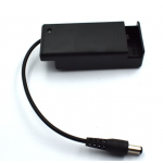 HS2722 9v 6F22 Battery box with Cover + Switch +DC cable