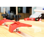 HS2257 Quick Acting Hold Down Clamp Aluminum Alloy T-Slot T-Track Clamp Set Woodworking Tool for Woodworking Table