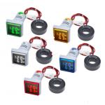 HS2768 Square 22mm AC 50-500V 0-100A Digital Voltmeter Ammeter