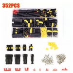 HS2808 352pcs HID Waterproof Connectors 1/2/3/4 Pin  300V 12A