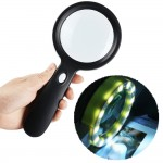 HS2864 Lighted Magnifying Glass-10X