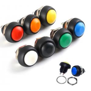 HR0589 10pc PBS-33B 12mm  Momentary Push Button