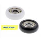 HS3061 625ZZ POM Bearings Passive Round Roller Wheel with Kossel Nylon Plastic Wheel 5x21.5x7mm for 3D Printer Parts
