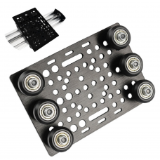 HS3063 V-Slot Gantry Set 20-80mm Gantry plate with wheels for aluminum profiles